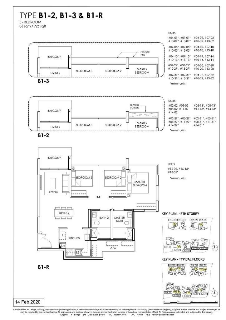 OLÁ OLA floorplan type B1 R