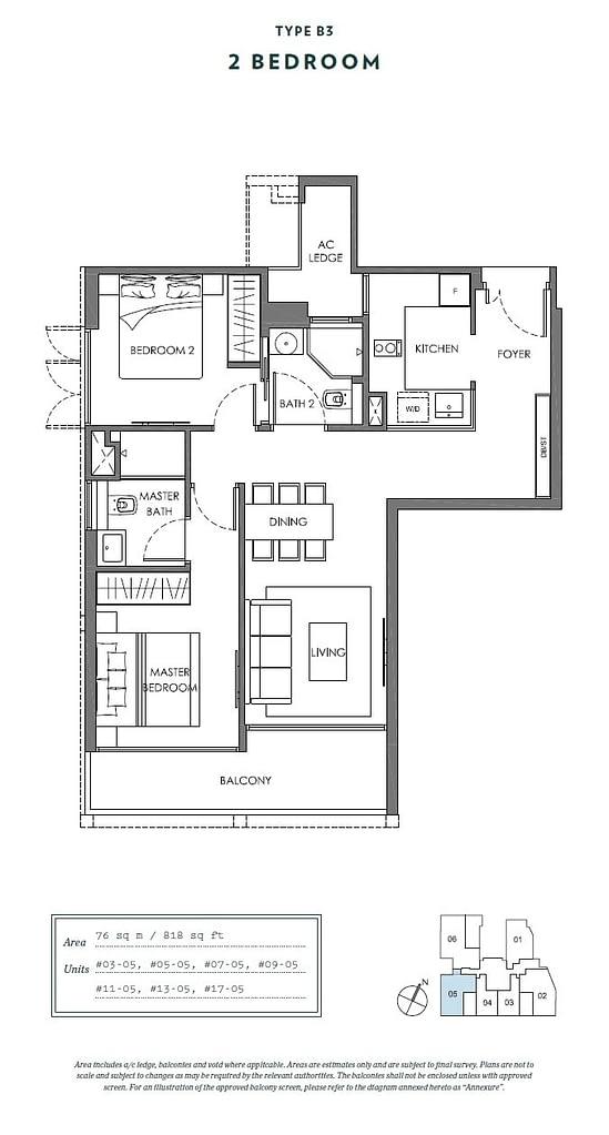 Nyon Nyon floorplan type B3