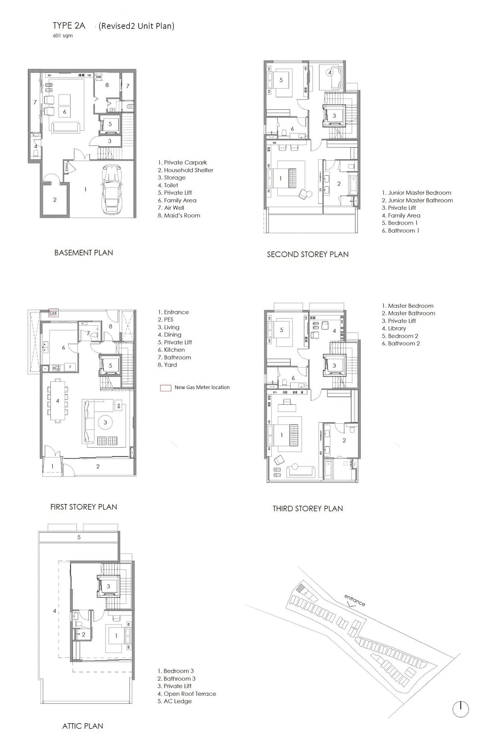 Parkwood Collection Parkwood Collection Floorplan 2A scaled