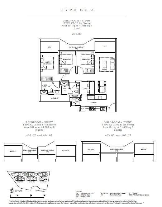 Peak Residence Peak Residence Floorplan C2 2P