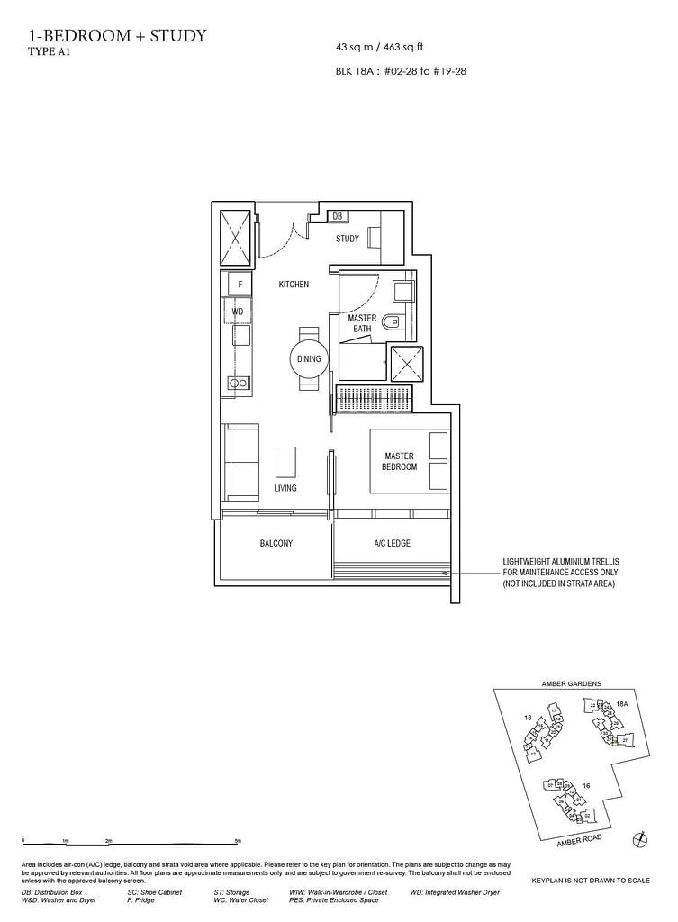 Amber Park Amber Park floorplan layout A1
