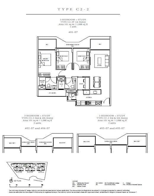 Peak Residence Peak Residence Floorplan C2 2