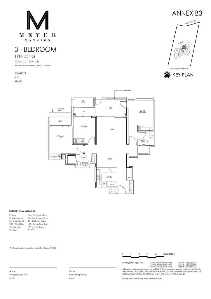 Meyer Mansion Meyer Mansion floorplan type C1 G