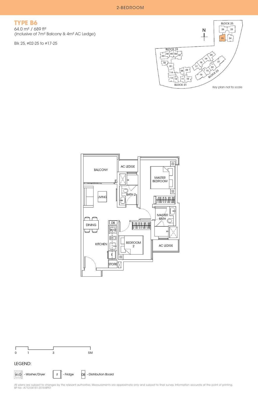 Antares Antares floorplan type B6