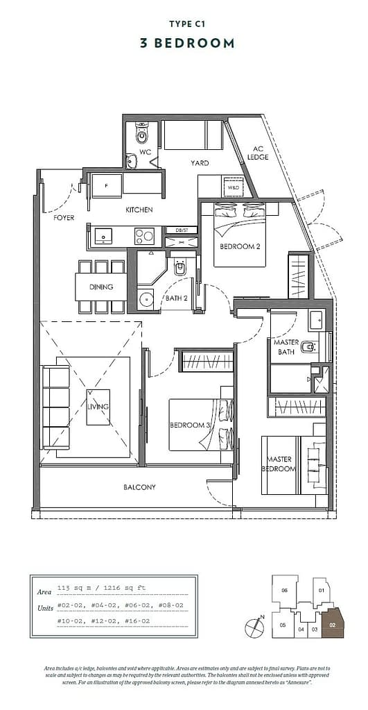 Nyon Nyon floorplan type C1