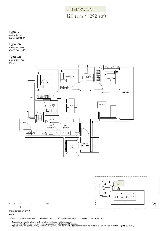 Sloane Residences Sloane Residences Floorplan C
