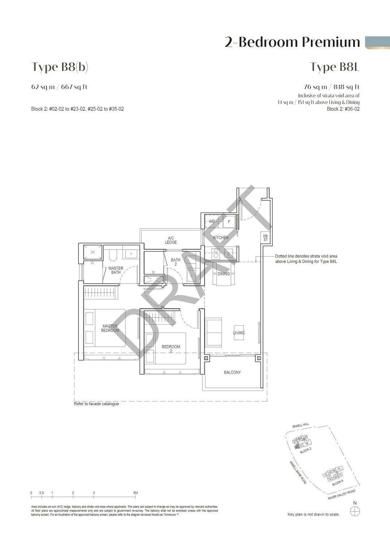 Irwell Hill Residences Irwell Hill Residences floorplan type B8L