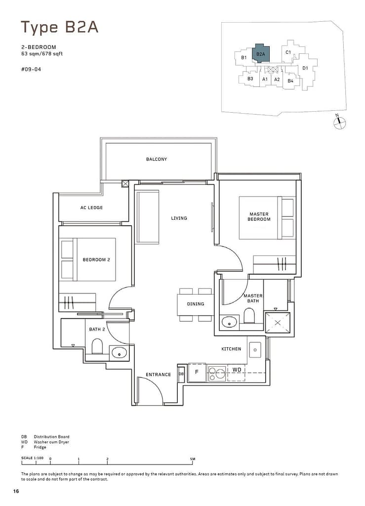 MYRA MYRA floorplan type B2A