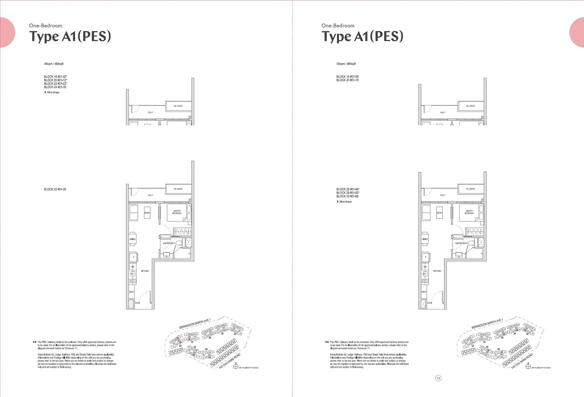 Affinity at Serangoon Affinity at Serangoon floorplan A1PES scaled