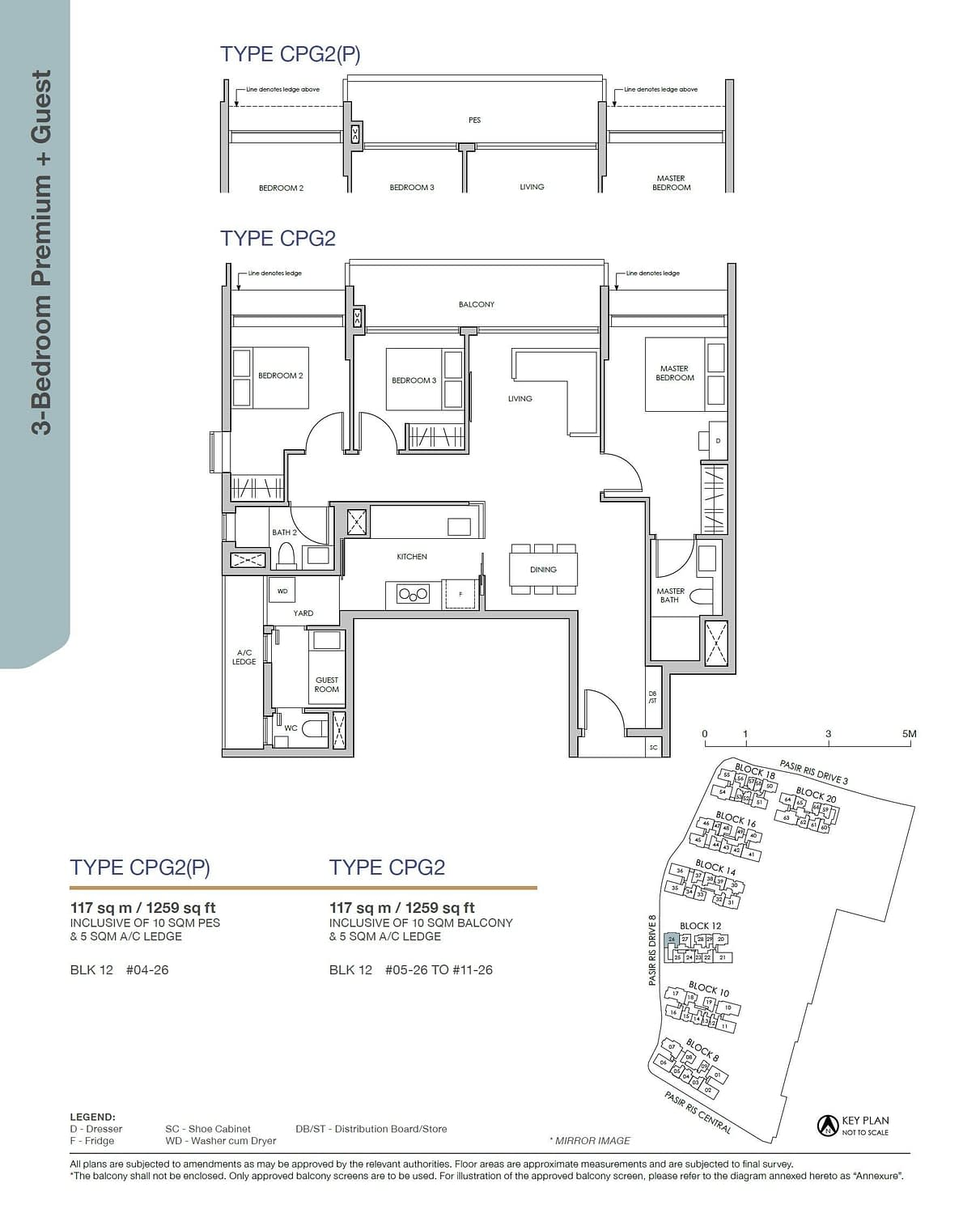 Pasir Ris 8 Pasir Ris 8 Floorplan CPG2P