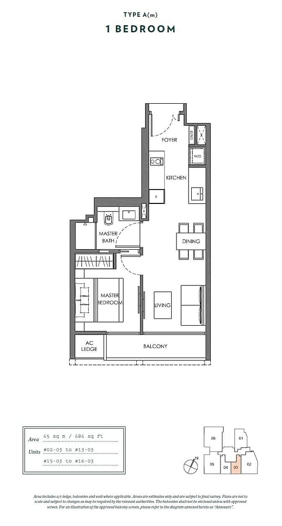 Nyon Nyon floorplan type Am