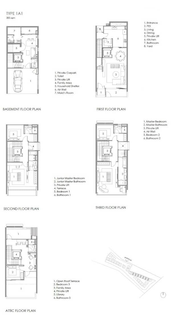 Parkwood Collection Parkwood Collection Floorplan 1A 1