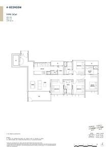 Penrose Penrose floorplan 4a1