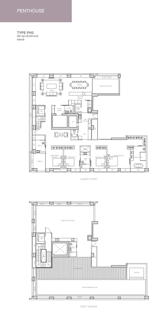 Nouvel 18 Nouvel 18 floorplan typePH3