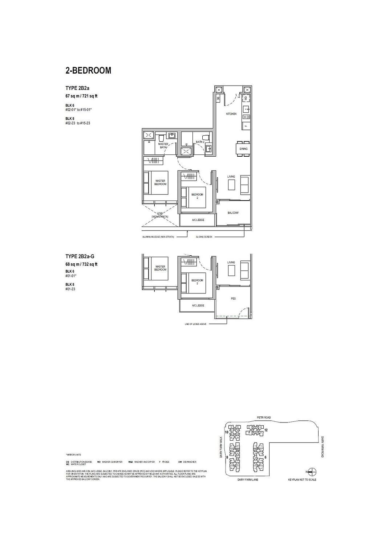 Dairy Farm Residences Dairy Farm Residences floorplan 2B2a