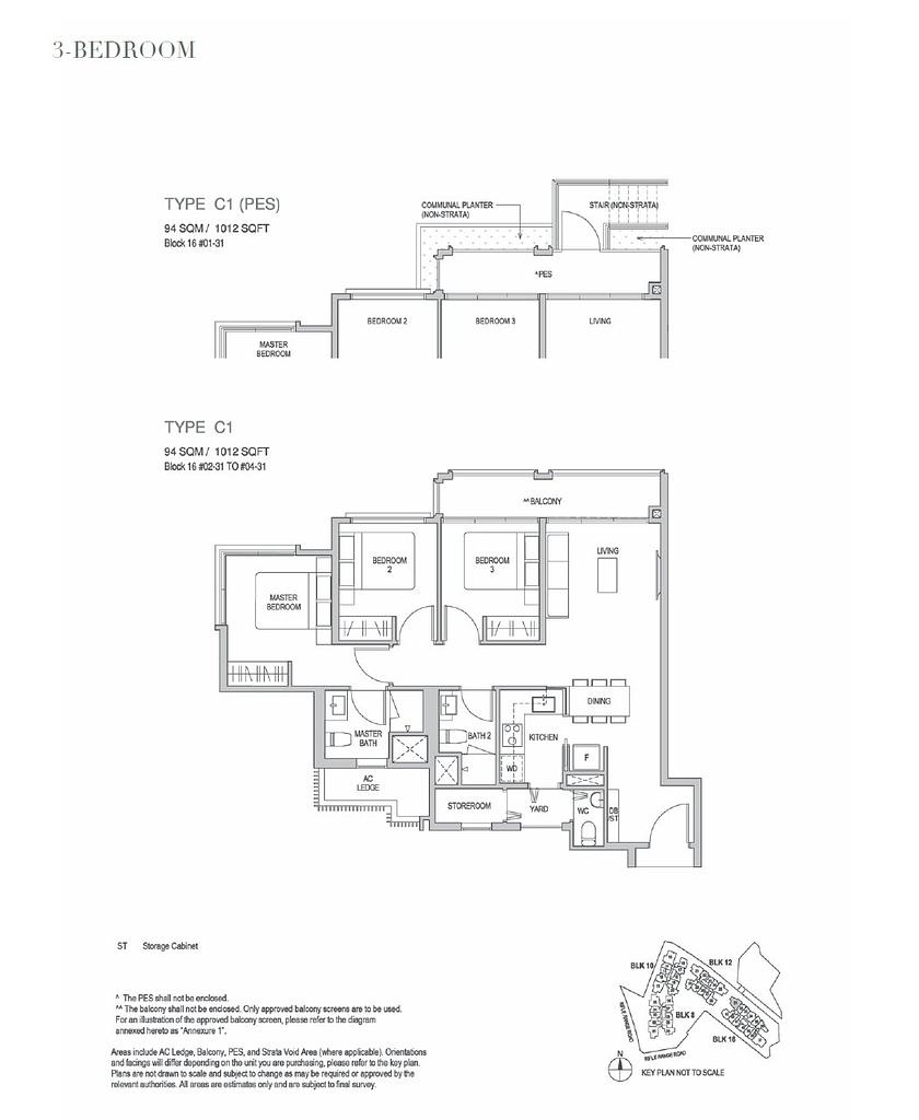 Mayfair Gardens Mayfair Gardens floorplan typeC1