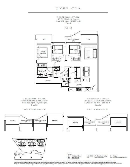 Peak Residence Peak Residence Floorplan C2AP