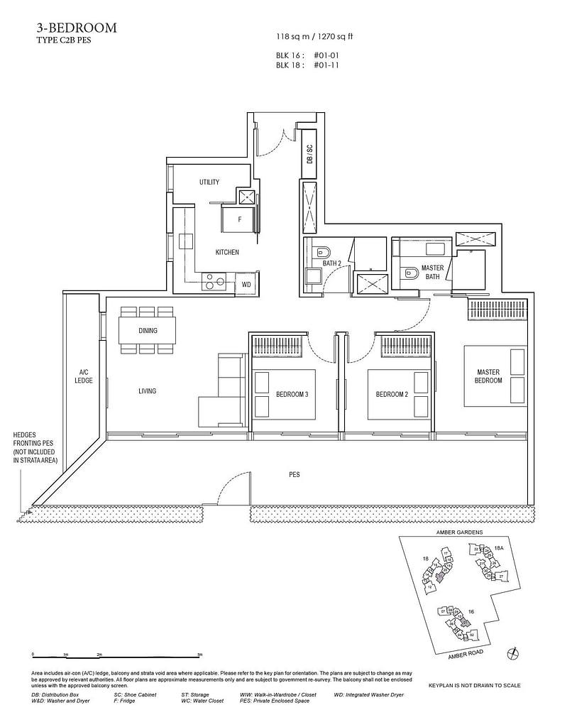Amber Park Amber Park floorplan layout C2B PES