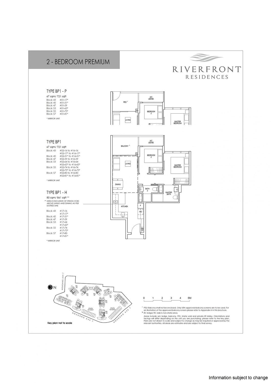 Riverfront Residences Riverfront Residences Floorplan BP1 scaled