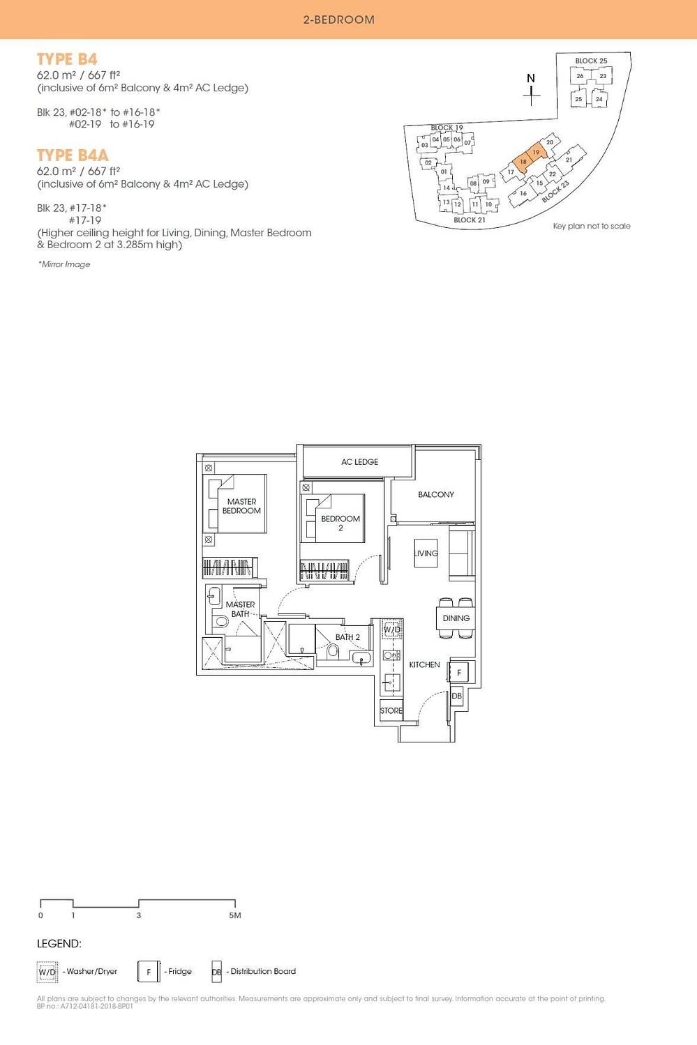 Antares Antares floorplan type B4