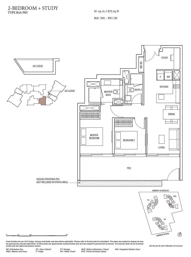 Amber Park Amber Park floorplan layout B4A PES