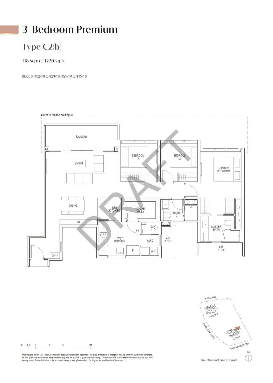 Irwell Hill Residences Irwell Hill Residences floorplan type C2b