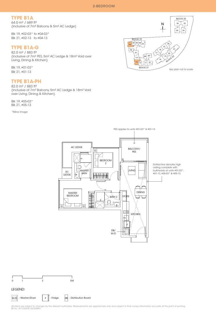 Antares Antares floorplan type B1A G