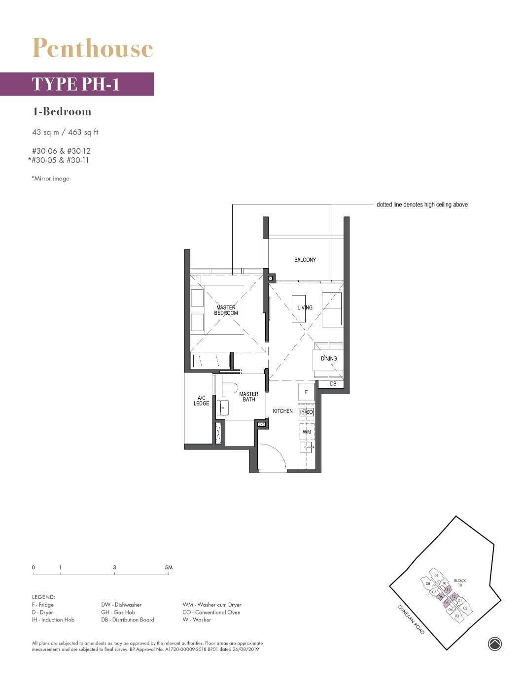 Pullman Residence Pullman Residence Floorplan PH1