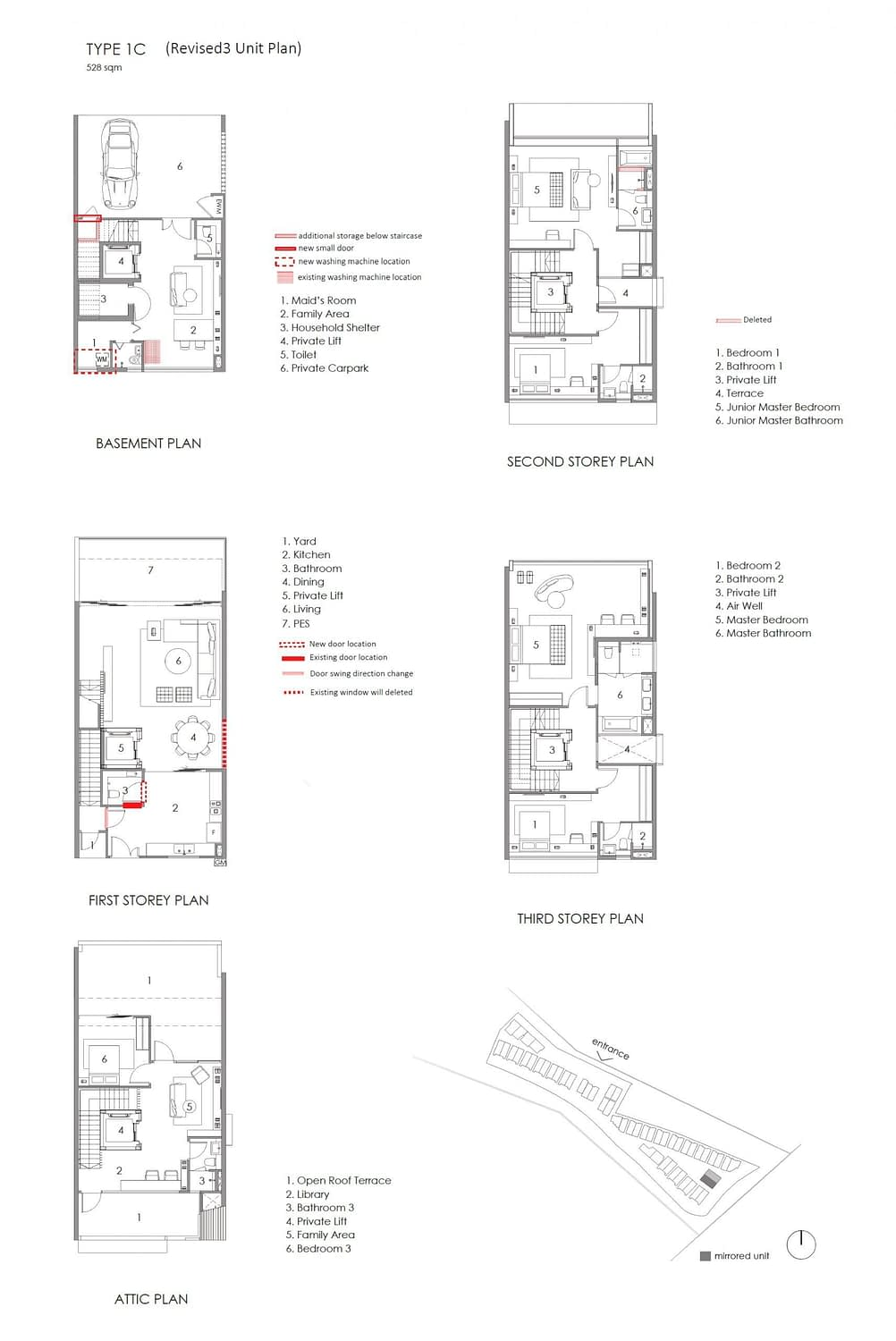 Parkwood Collection Parkwood Collection Floorplan 1C scaled