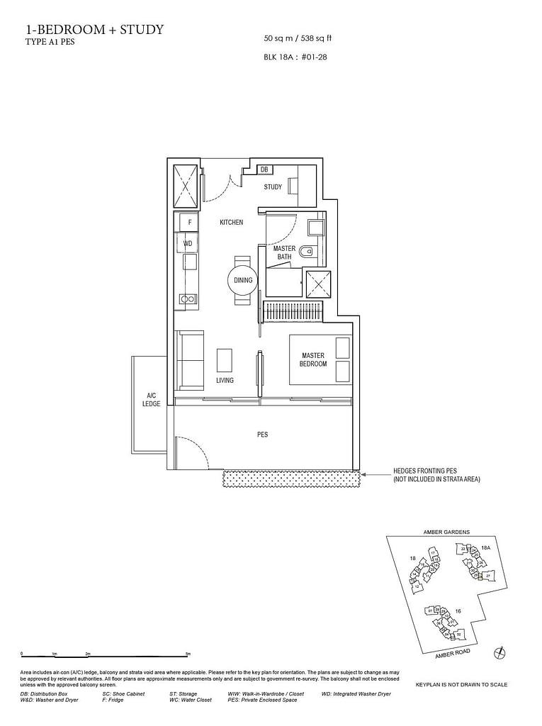 Amber Park Amber Park floorplan layout A1 PES