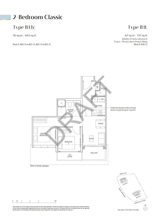 Irwell Hill Residences Irwell Hill Residences floorplan type B1L