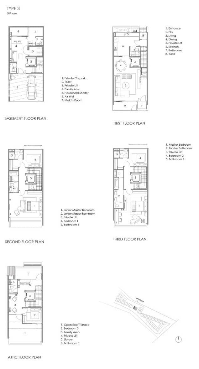 Parkwood Collection Parkwood Collection Floorplan 3A
