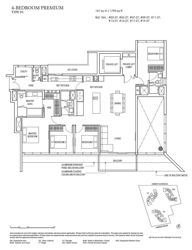 Amber Park Amber Park floorplan layout D3