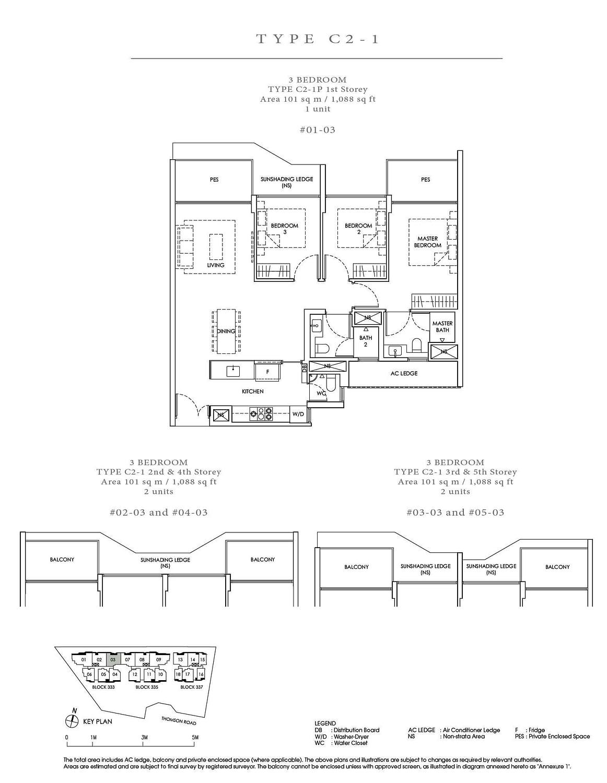 Peak Residence Peak Residence Floorplan C2 1