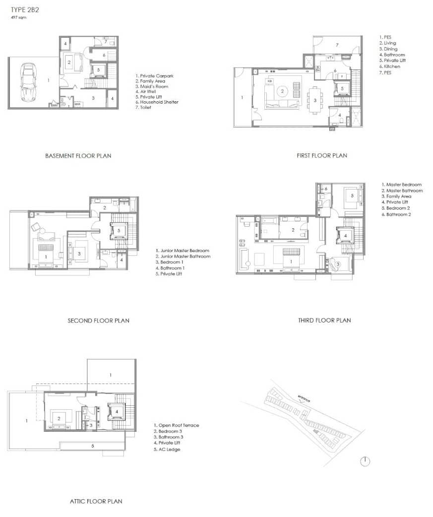 Parkwood Collection Parkwood Collection Floorplan 2B 2