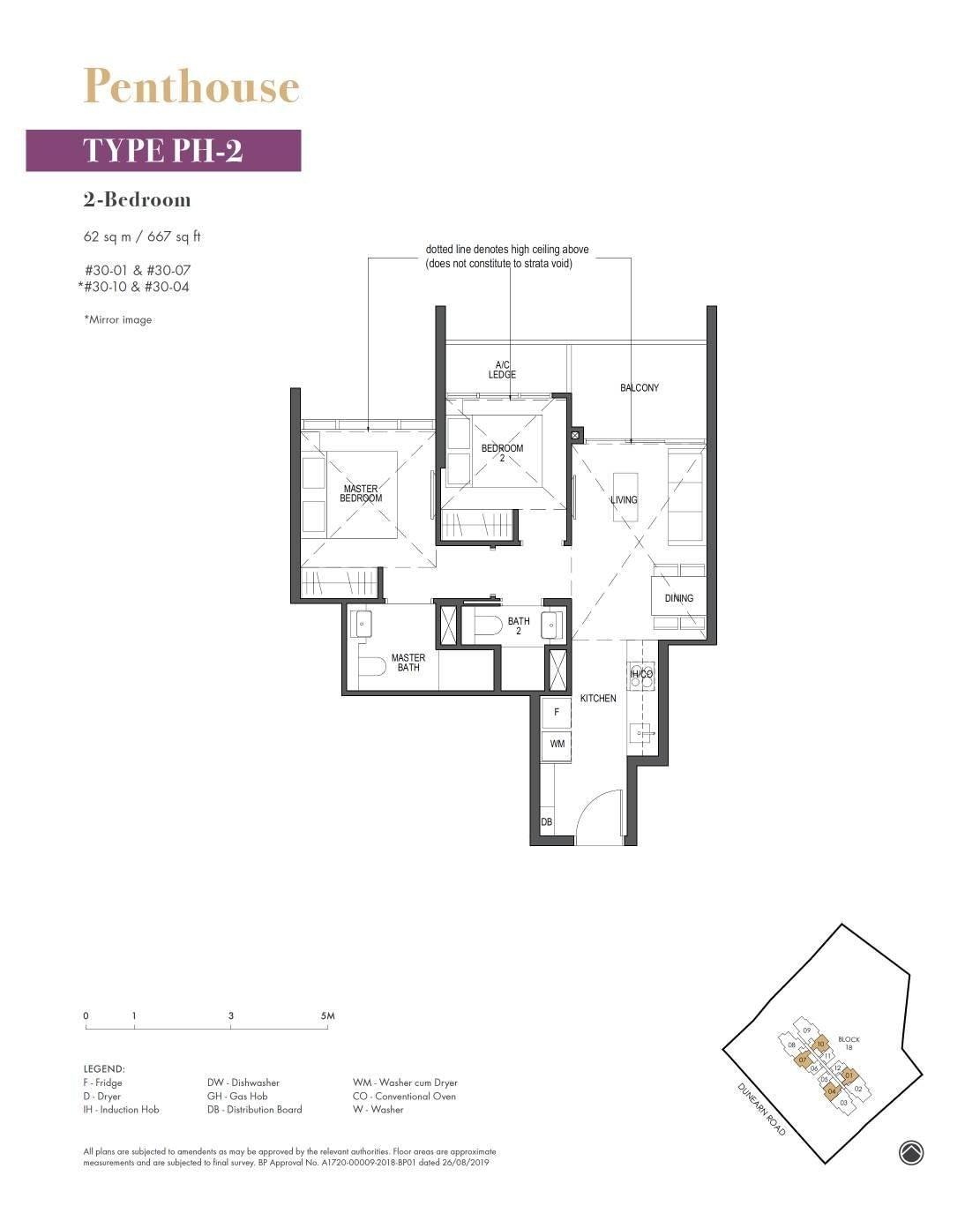 Pullman Residence Pullman Residence Floorplan PH2