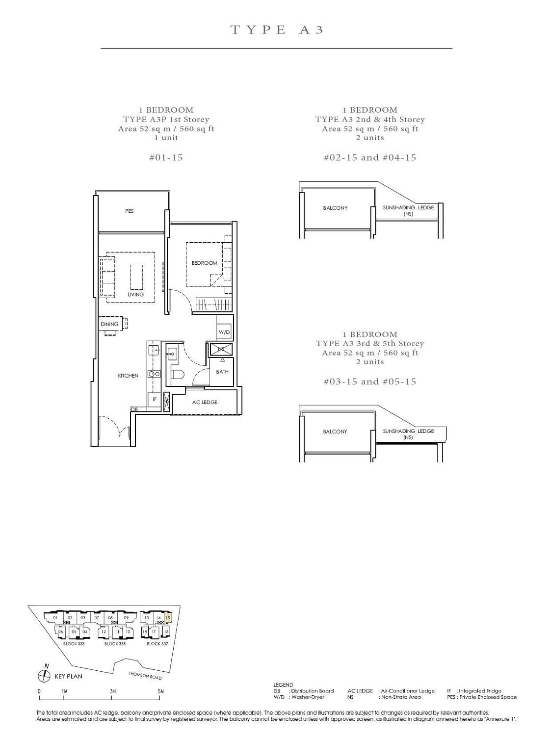 Peak Residence Peak Residence Floorplan A3