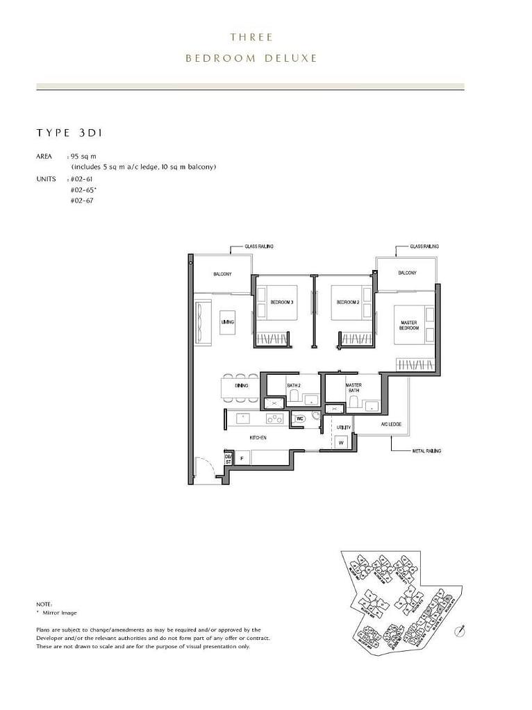 Parc Komo Parc Komo floorplan type 3D1