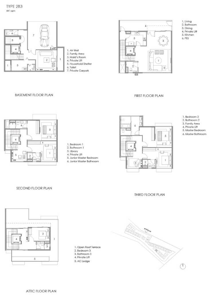 Parkwood Collection Parkwood Collection Floorplan 2B 3
