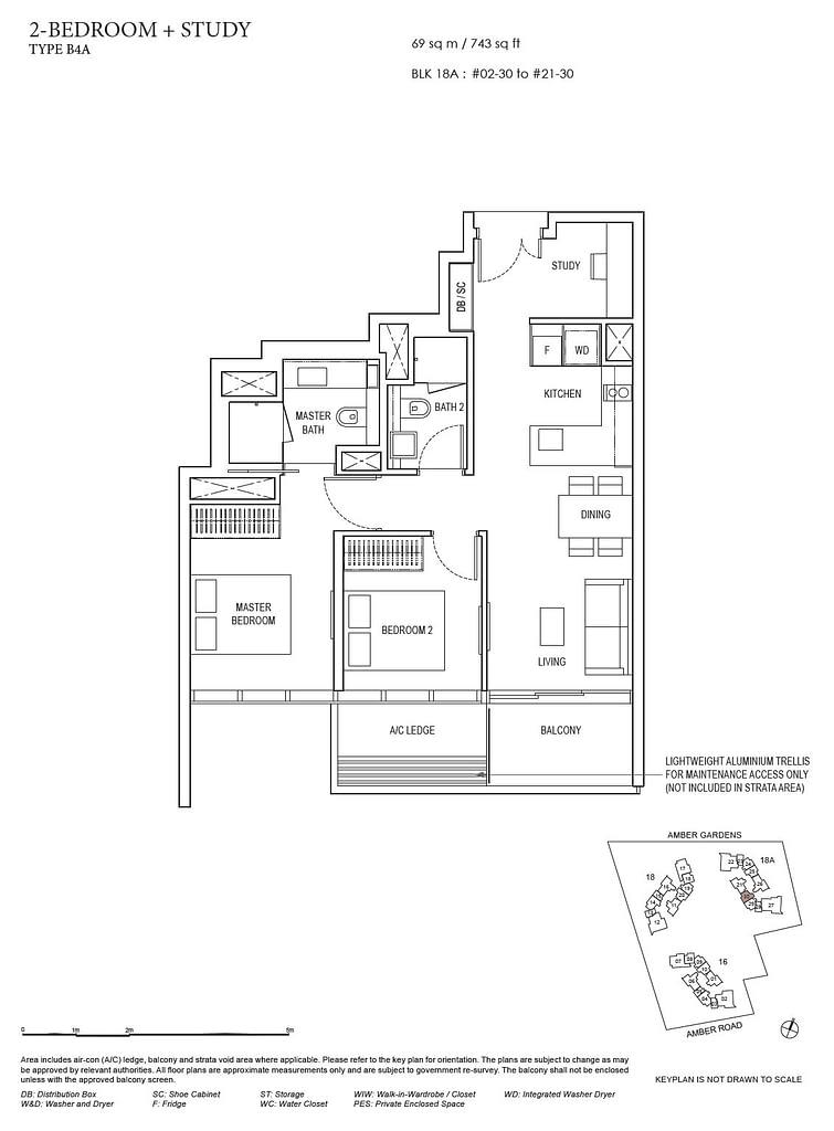 Amber Park Amber Park floorplan layout B4A