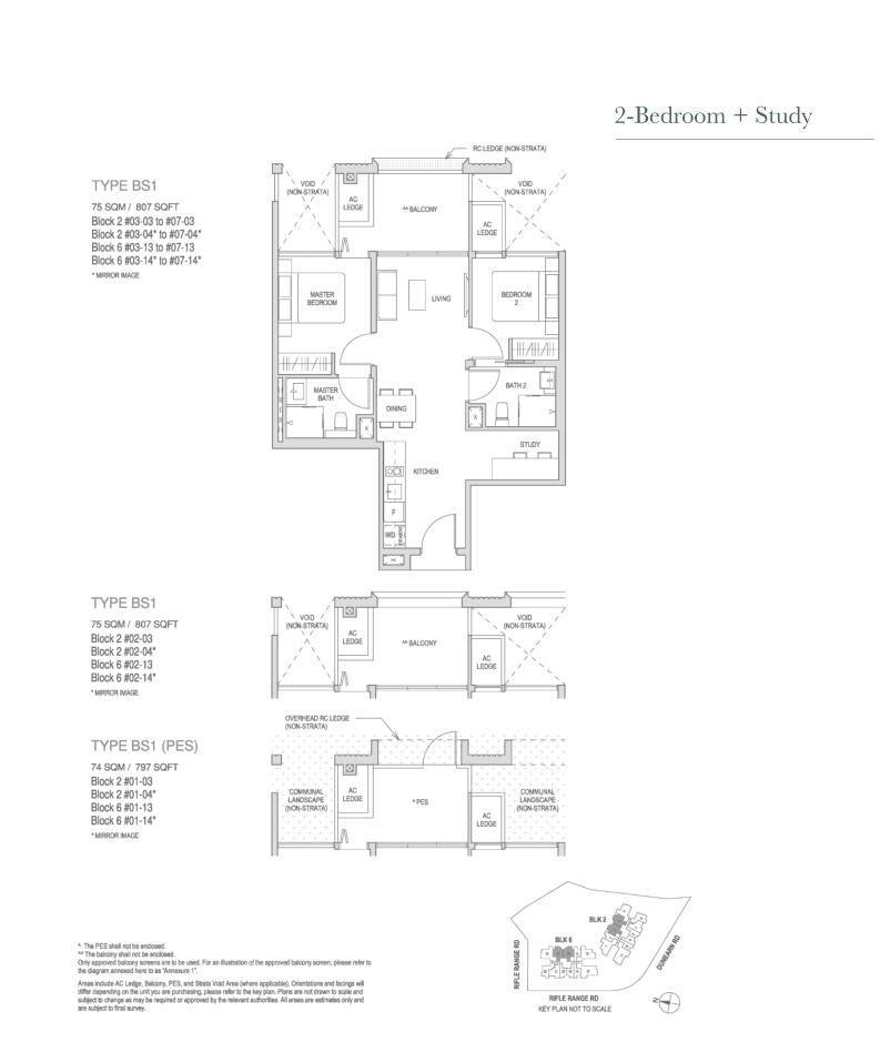 Mayfair Modern Mayfair Modern floorplan type BS1