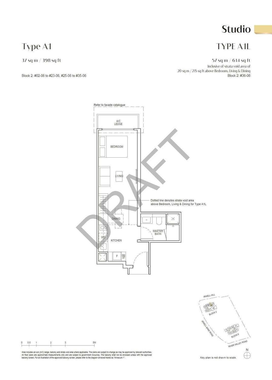 Irwell Hill Residences Irwell Hill Residences floorplan type A1L