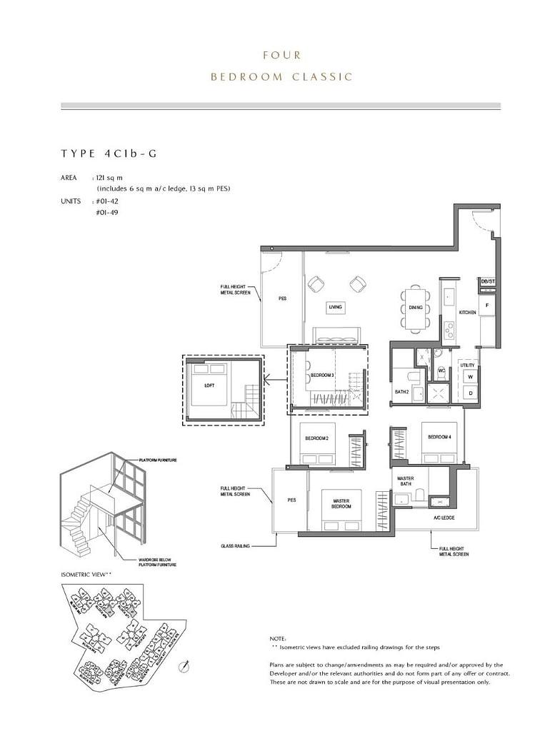 Parc Komo Parc Komo floorplan type 4C1b G