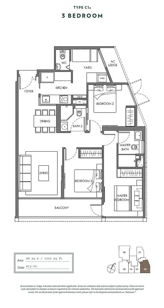 Nyon Nyon floorplan type C1a