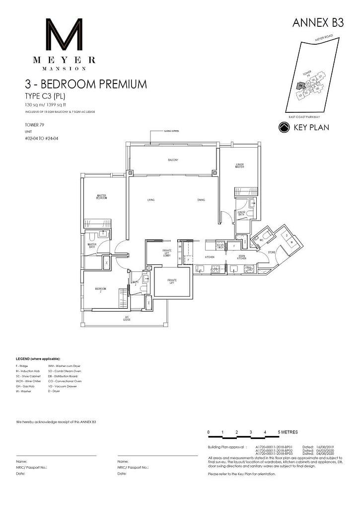 Meyer Mansion Meyer Mansion floorplan type C3 PL