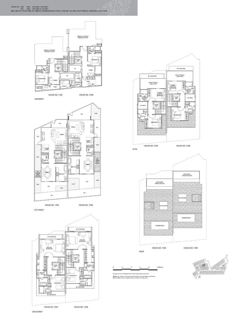 Whitley Residences Whitley Residences floorplan type 139B