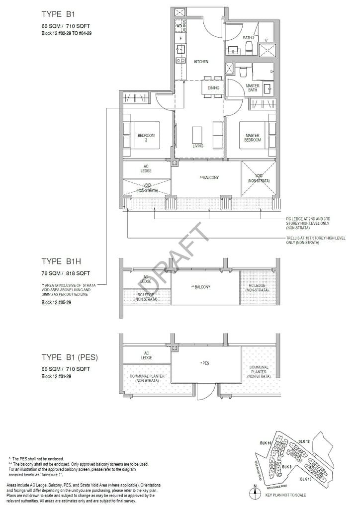 Mayfair Gardens Mayfair Gardens floorplan typeB1PES