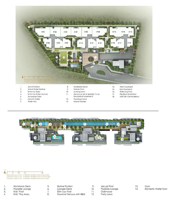 Peak Residence Siteplan