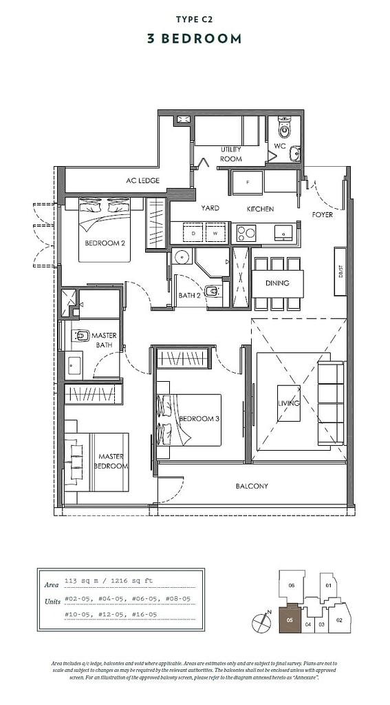 Nyon Nyon floorplan type C2