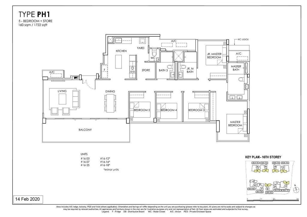 OLÁ OLA floorplan type PH1